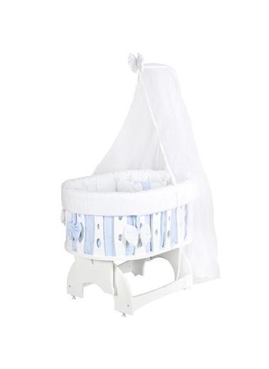 POKY POKY Salıncak Bebek Ahşap Fly Tavan Askılı Mj714FlySlnck Mavi